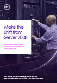 Make the Shift from server 2008