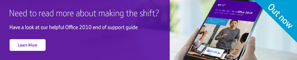 Make the shift from Office 2010
