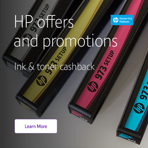 Check out the latest ink and toner offers from HP here
