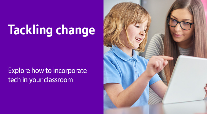 Tackling Change blog header