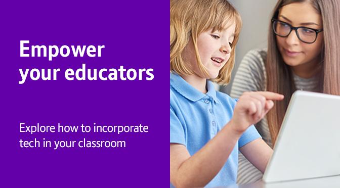 Empower your educators blog header