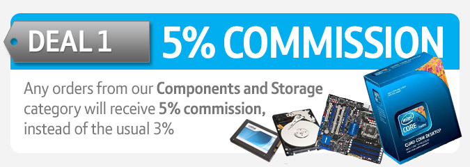 Increased commission components and storage