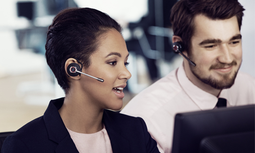 Jabra is a world-leading supplier of wireless headset solutions and have many years of experience helping customers deploy