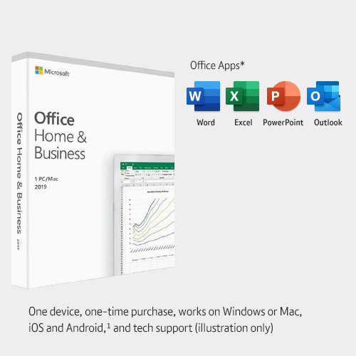 Office 2019 - perfect for a small business with a small workforce
