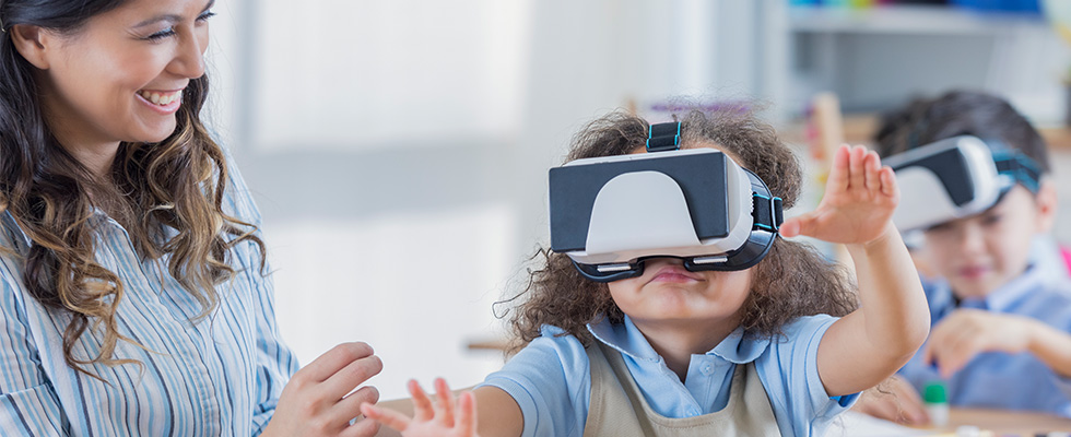 a58886cfd Strengthen the learning experience by enabling students to discover,  simulate, and create the unknown in new and immersive virtual realities