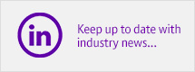 Keep up to date with industry new on LinkedIn