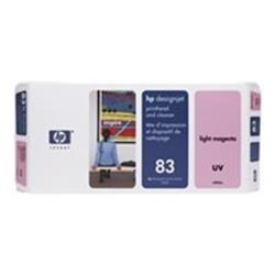 HP 83 Light Magenta UV Printhead and Printhead Cleaner