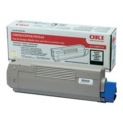OKI 8K Black Toner for C5850/5950