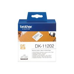 Printer Consumables Brother Shipping 62 x 100mm 300 Labels