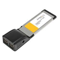 StarTech.com 2 Port ExpressCard 1394b FireWire Laptop Adapter Card