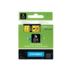 DYMO D1 9mm Tape - Black on Yellow