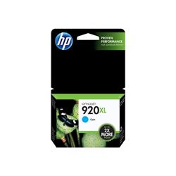 HP 920XL High Yield Cyan Original Ink Cartridge