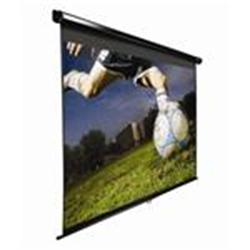 "Elite Screens 100"" Manual 16:9 Format Screen- Black"