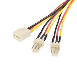 StarTech.com 12in TX3 Fan Power Splitter Cable