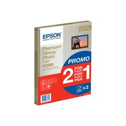 Epson Premium Glossy Photo Paper - glossy photo paper - 15 sheet(s)