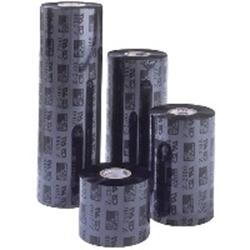 Zebra 3200 Wax/Resin - Print ink ribbon refill (thermal transfer) - 1 x black - 110 mm x 450 m