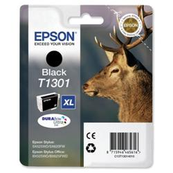 Epson T1301 Black DURABrite Ultra Ink Cartridge