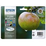 Epson T1295 Multipack Black/Yellow/Cyan/Magenta Print Cartridge