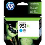 HP 951XL - Print cartridge - high capacity - 1 x cyan - 1500 pages