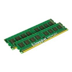 Kingston ValueRAM 16GB (2 x 8GB) 1333MHz DDR3 Non-ECC DIMM 240-pin CL9