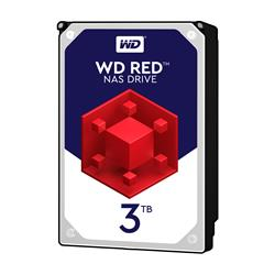 WD 3TB Red NAS Desktop  Hard Disk Drive  Intellipower SATA 6Gbs 64MB Cache 3.5 Inch  WD30EFRX