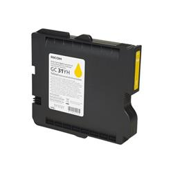 Ricoh Yellow Gel - High Yield  GC 31YH (4,000 prints)