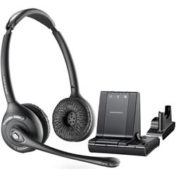 Plantronics Savi W720/A Over-the-Head Binaural UC DECT Headset - Wireless & Triple Connectivity