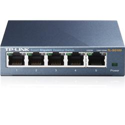 TP LINK 5Port Gigabit Desktop Switch  Steel Case