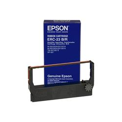 Image of Epson ERC23BR Cartridge for TM-267/II, M-252/262/267 Black/Red