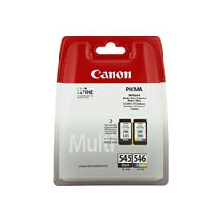 Canon PG545/CL546 Black & Colour Ink Multipack