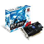 MSI AMD Radeon R7 250 1050MHz 2GB GDDR3 PCI-Express 3.0 HDMI OC (R7 250 2GD3/OC)