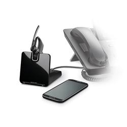 Plantronics Voyager Legend CS Wireless Headset for Deskphone & Mobile (with APA-23 EHS)