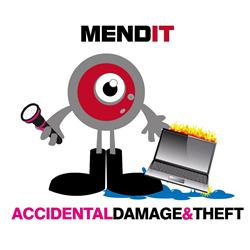 Mend IT Accidental Damage + Theft 4 Year (Unit Value £0-£100)