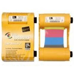 Zebra ix Series Load and Go YMCKOK Print Ribbon for ZXP Series 1 Card Printers