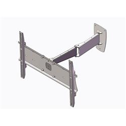 Unicol PLA1X1 Double Swing Arm Wall Bracket For Screens 37-55""