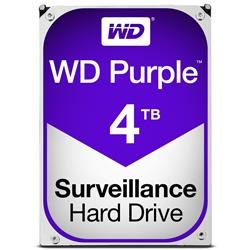 WD Purple 4TB Surveillance AV Hard Disk Drive  Intellipower SATA 6 Gbs 64MB Cache 3.5