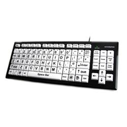 Ceratech Accuratus Monster 2 USB High Contrast Keyboard