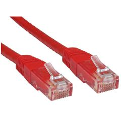Cables Direct Cat 6 Ethernet Network Cables Red 2m
