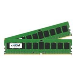Crucial 16GB Kit (2x8GB) DDR4 2133 MT/s (PC4-2133) CL15 SR x4 ECC Registered DIMM 288pin