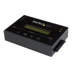 StarTech.com Standalone 2.5  3.5 SATA Hard Drive Duplicator w  Multi HDD SSD Image Backup Library