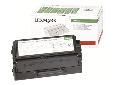 Lexmark 6K Prebate Laser Print Cart High - Yield - 1 x black - 6000 pages - LRP / LCCP