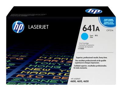 HP 641A Cyan Original LaserJet Toner Cartridge