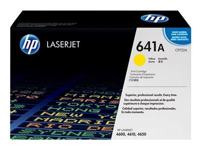 HP 641A Yellow Original LaserJet Toner Cartridge
