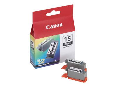 Canon BCI-15BK Black Ink Tank