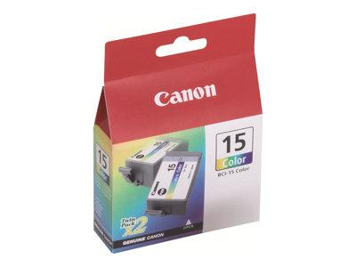 Canon BCI-15C Colour Ink Tank Twin Pack