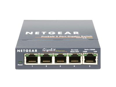NETGEAR GS105 5 Port Gigabit Switch