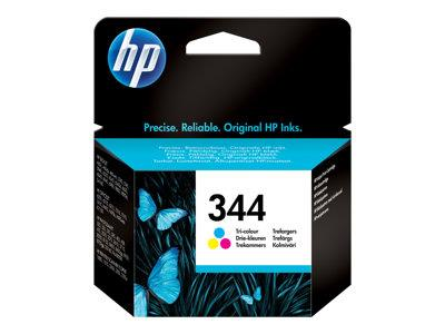 HP 344 Tri-colour Original Ink Cartridge