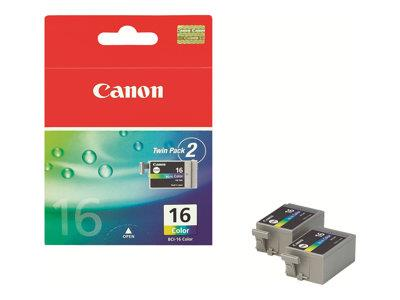 Canon BCI-16 Colour (Yellow/Cyan/Magenta) Cartridge