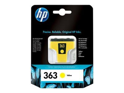 HP 363 Yellow Original Ink Cartridge