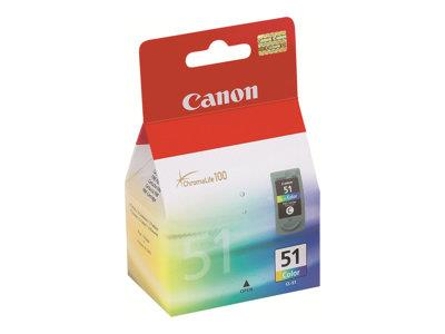 Canon CL-51 Colour (Cyan/Magenta/Yellow) Ink Tank - 330 pages